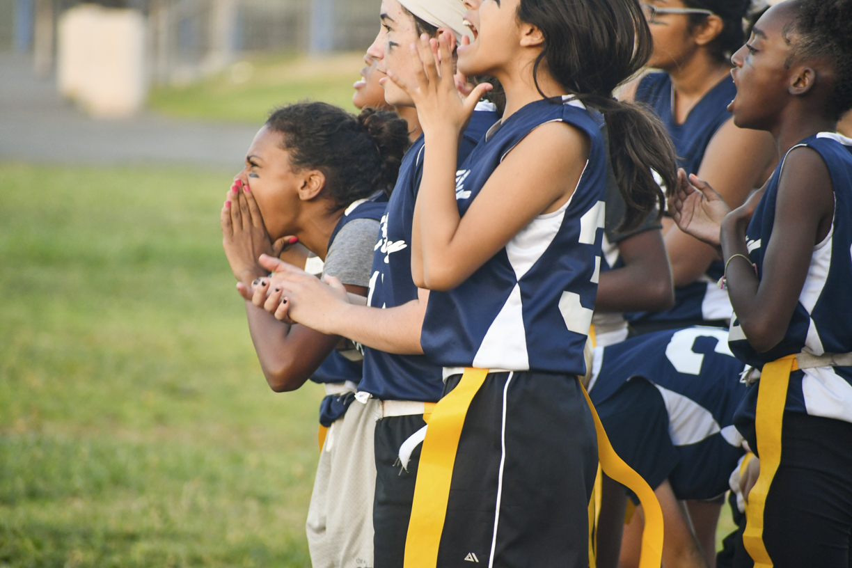 City Girls Football Cheering